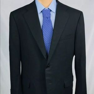 Canali 1934 Gray Tag Current Black 44R Blazer Mint